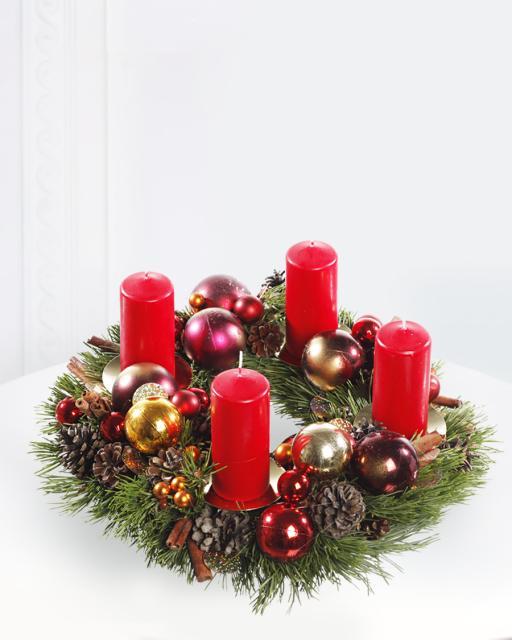 (Detsember-Jaanuar) Jõulupärg küünaldega