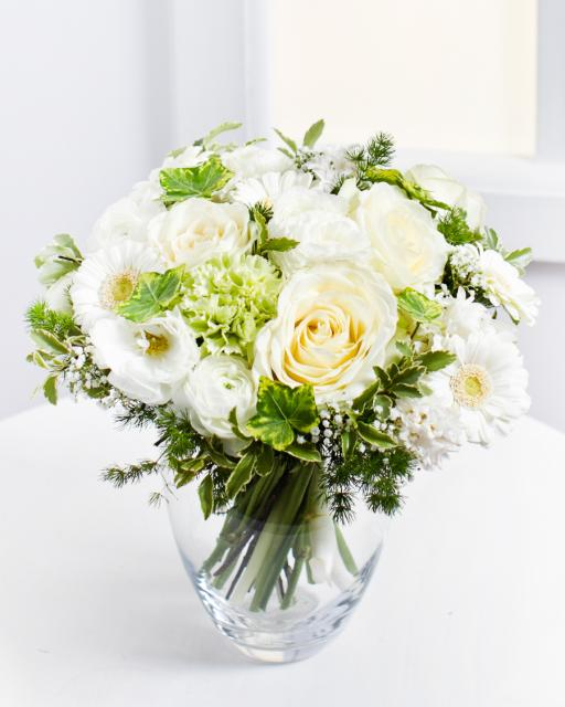 Romantic Bouquet in White Colours